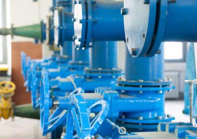 Circuito idraulico del laboratorio
