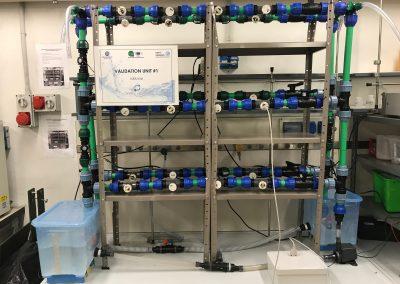 Loop di simulazione di condotte in acquedotto per lo sviluppo del sensore di sporcamento organico e inorganico Dirty Sensing