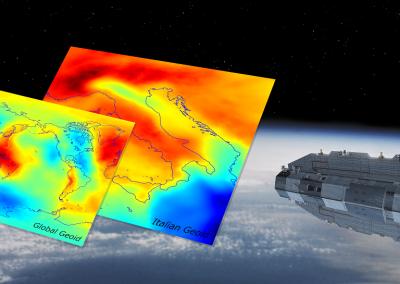 Modelli globali e locali di geoide basati anche su dati di gravità da satellite per la definizione di altezze fisiche
