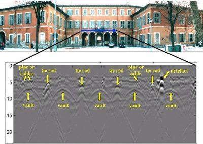 Indagini non distruttive su edifici storici (metodo georadar)