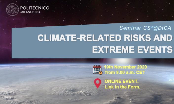 Climate-Related risks and extreme events