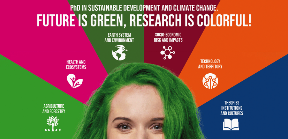 PhD in Sustainable Development and Climate change (SDC): two scholarships at DICA and DENG