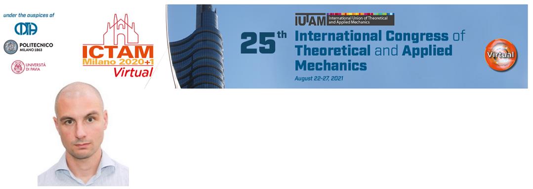 Congratulazioni all'ingegnere Alessandro Marengo, vincitore dello IUTAM Bureau Prize